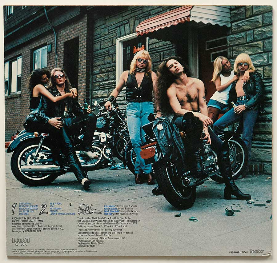OHIO'S ROCK N'ROLL MACHINES On on Motorcycles